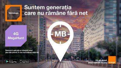 Orange lansează 4G MegaHunt, vânătoarea naţională de premii