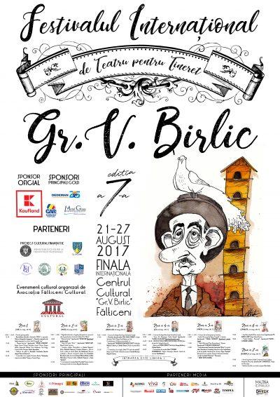 """Începe a VII-a ediție a Festivalului Internațional de Teatru pentru Tineret  """"Gr. Vasiliu Birlic"""", 21-17 august (PROGRAM)"""