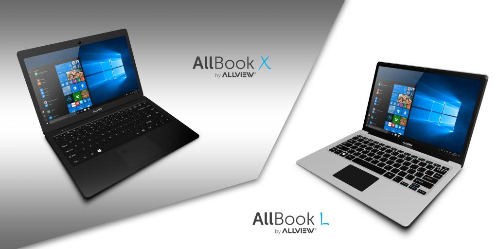 Allview lanseaza notebook-urile Allbook X si Allbook L
