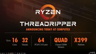 AMD revoluționează piața procesoarelor high-end cu noile Ryzen Threadripper si lanseaza placi grafice de varf RX Vega la preturi incepand cu 399 dolari