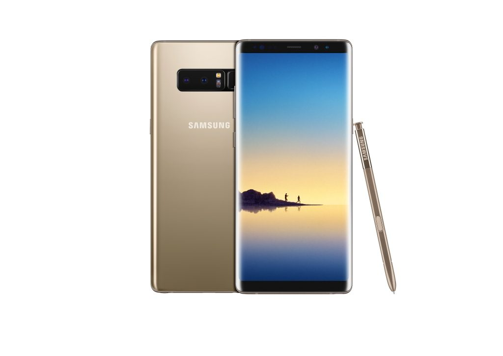 Galaxy Note8_ Maple Gold