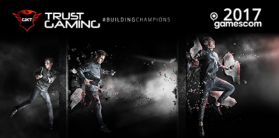 Trust Gaming este prezent la Gamescom 2017 cu noua ideologie #buildingchampions