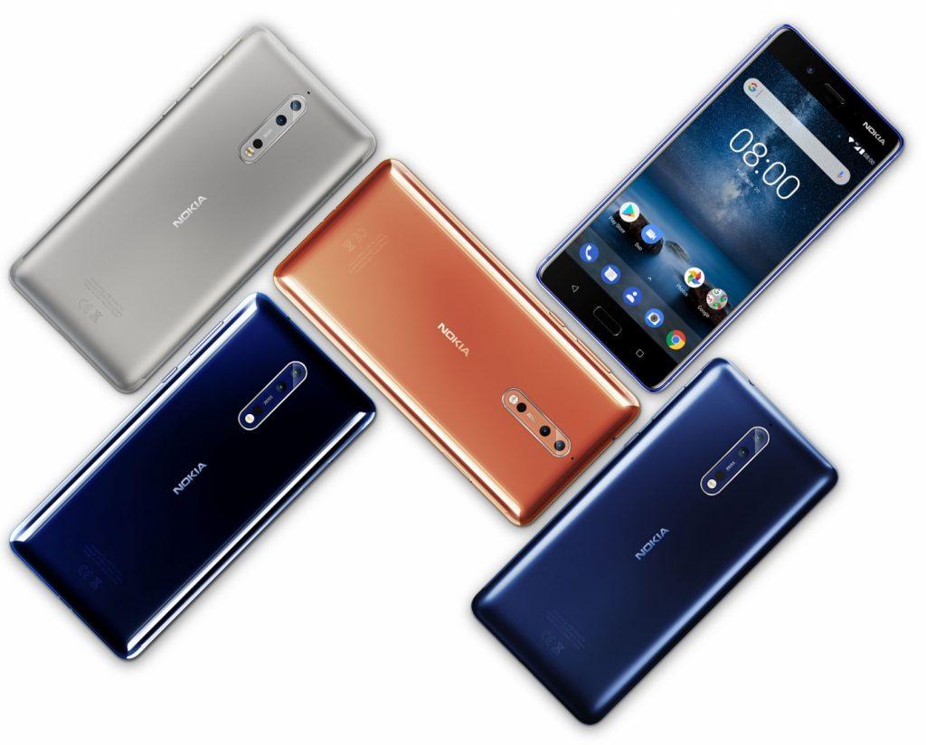 Nokia 8 a fost lansat oficial – flagship-ul dispune de hardware de top si camera foto realizata in colaborare cu Carl Zeiss