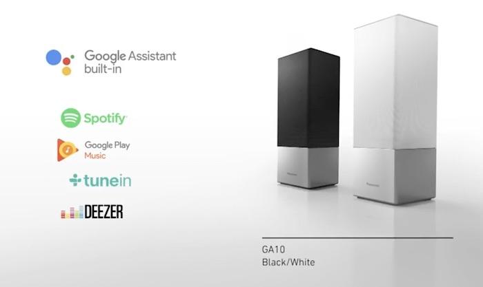 Panasonic anunță lansarea primelor  sale boxe inteligente de înaltă fidelitate SC-GA10 cu Google Assistant încorporat