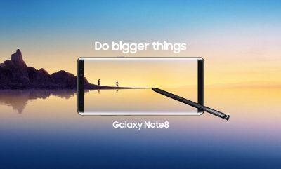 Noul Samsung Galaxy Note 8 este disponibil pentru precomanda la Vodafone Romania