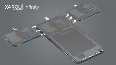 X4 Soul Infinity – primul smartphone romanesc care va beneficia de upgrade hardware