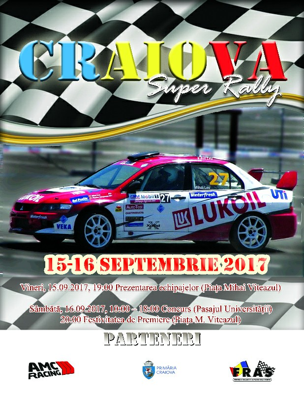 Start la Craiova Super Rally