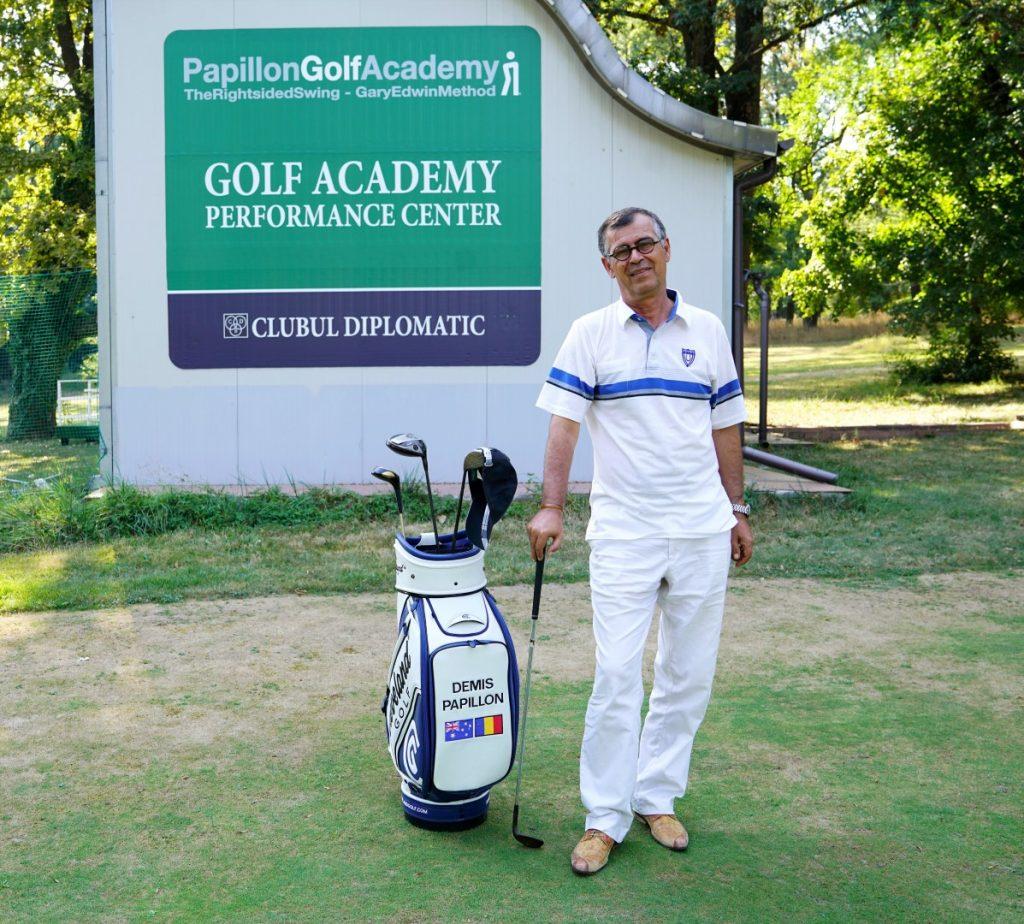 Cupa Academiei de Golf Demis Papillon ediția a noua va avea loc la Clubul Diplomatic pe 16 septembrie 2017