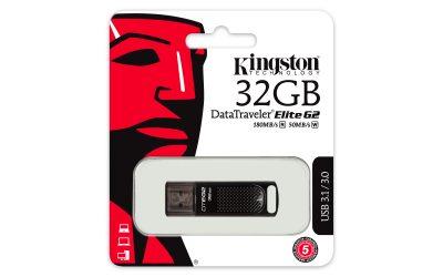 Kingston Digital lansează stick-ul USB 3.1 DataTraveler Elite G2, pentru transferul rapid al fișierelor de mari dimensiuni