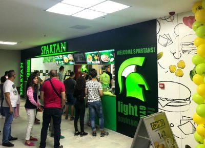 Spartan: Investiție de 90.000 de euro pentru deschiderea unității din Bacău
