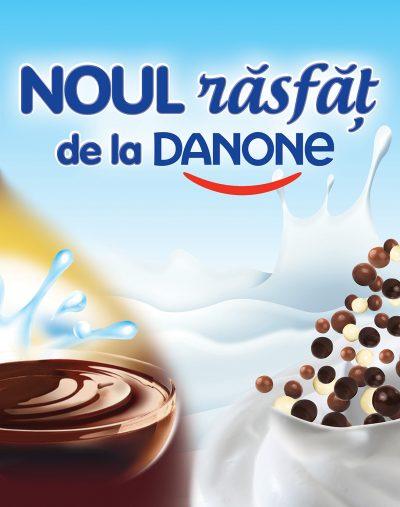 Danone a adus pe piață o nouă gamă de iaurturi de răsfăț