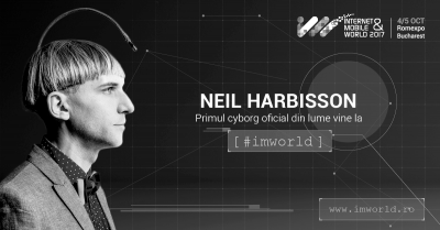 Primul cyborg oficial din lume vine la IMWorld 2017