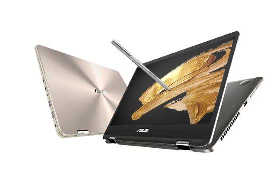 ASUS anunță două laptopuri ZenBook Flip cu ecrane NanoEdge de 14 și 15 inci