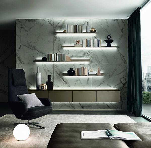 Pinum oferă consultanță în amenajări interioare de lux,  integrând soluții personalizate Rimadesio și Lualdi