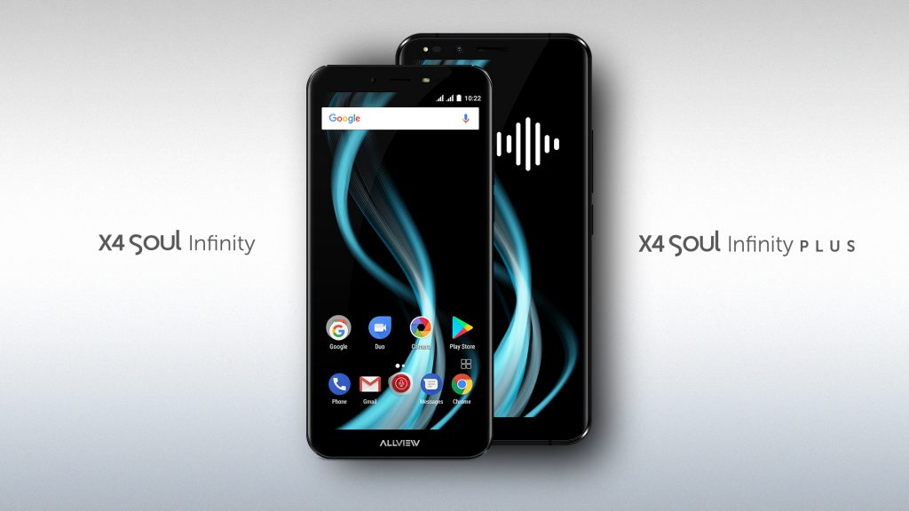 Poze si informatii despre X4 Soul Infinity si X4 Soul Infinity Plus, noile flagship-uri Allview