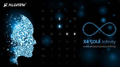 X4 Soul Infinity, noul flagship Allview, se lansează oficial pe 28 septembrie