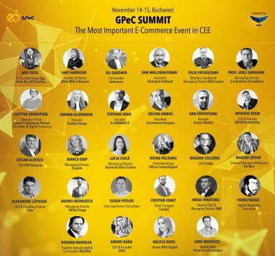 """Peste 30 de speakeri exceptionali vorbesc la GPeC SUMMIT pe 14-15 noiembrie, Bucuresti: """"Probabil, cel mai bun line-upin 12 ani de GPeC"""""""