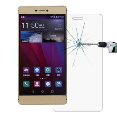 Montare folie de protectie din sticla Tempered Glass pe Huawei P9