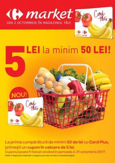 Carrefour lansează Card Plus, un nou program de fidelitate,  pentru clienţii supermarketurilor din 22 de orașe