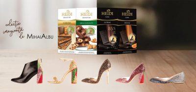 HEIDI și Mihai Albu lansează o colecție de pantofi neplictisitori
