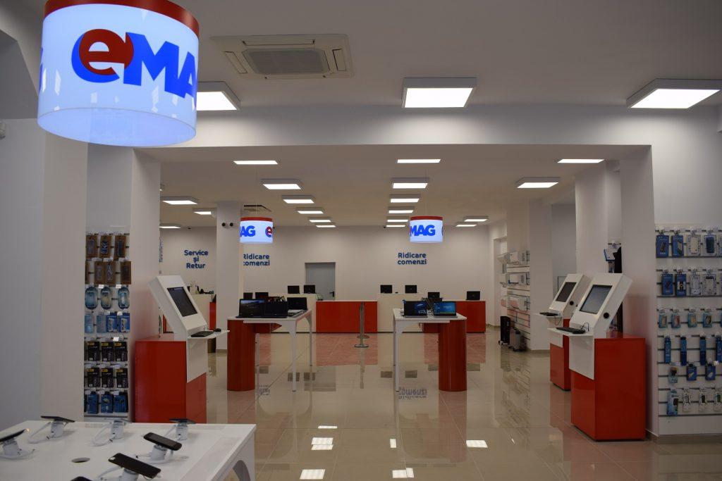 eMAG deschide la Timișoara cel mai mare showroom din provincie