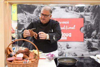 Chef Horia Vîrlan a gătit din nou cu produse alese de la Moldova în Bucate