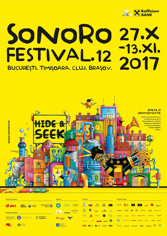 HIDE&SEEK la cea de-a XII-a ediție a Festivalului SoNoRo