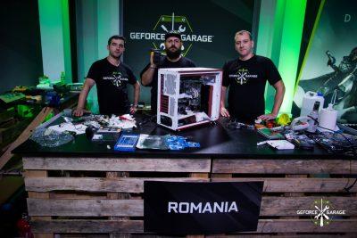 Cei mai buni modderi români, polonezi și cehi au construit trei concepte unice de sistem PC în cadrul competiției GEFORCE GARAGE: Destiny of Titans