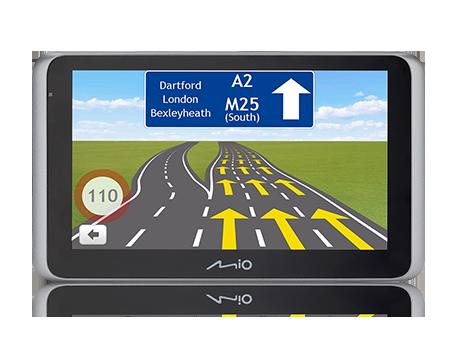 MIO MiVue™ Drive 65 LM – Sistem de navigatie cu display de  6.2″ si camera auto DVR integrata