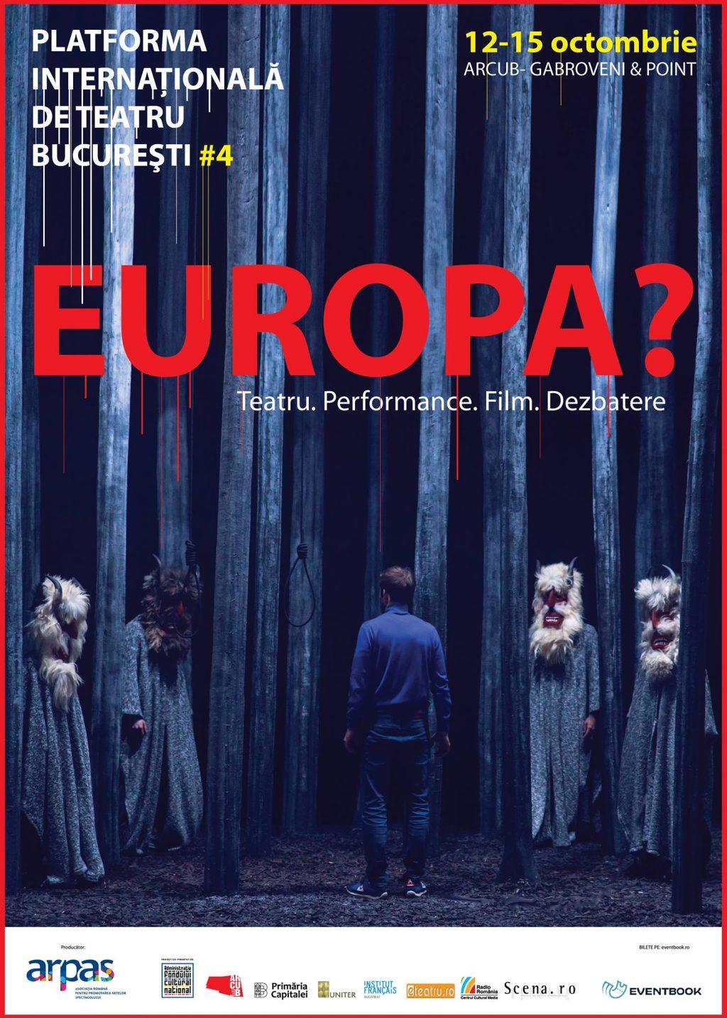 ARPAS – Asociația Română pentru Promovarea Artelor Spectacolului are deosebita plăcere de a vă invita în perioada 12 – 15 octombrie 2017 la cea de a 4a ediție a Platformei Internaționale de Teatru București, eveniment ce se va desfășura la ARCUB-Gabroveni și Point Art Hub.