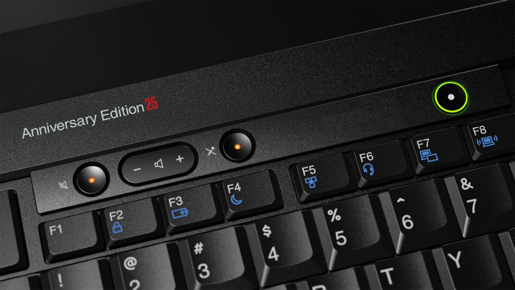 ThinkPad 25 Anniversary Edition close-up 2