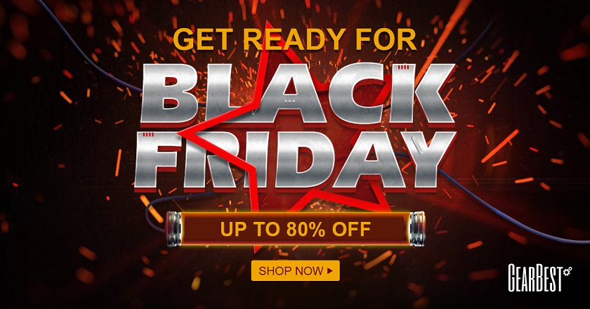 Black Friday 2017 la GearBest