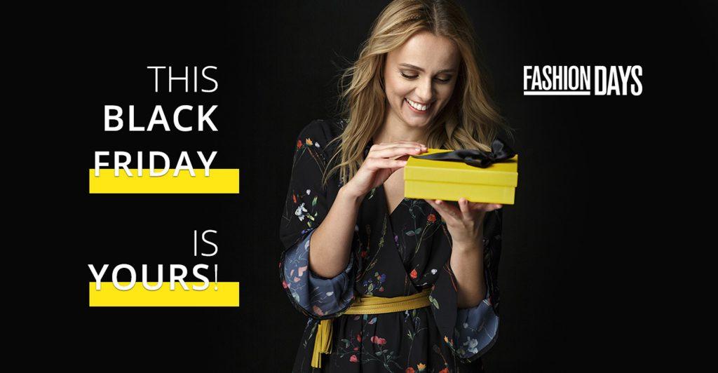 Cel mai mare Black Friday la Fashion Days: peste 1 milion de articole în stoc și reduceri de până la 90%