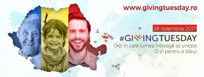 Giving Tuesday – o zi pentru a dărui, se sărbătorește pe 28 noiembrie și în Romania