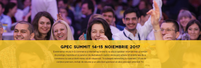 Castiga o invitatie de tip 2-day-pass la GPeC Summit 2017, cel mai important eveniment de e-commerce din Romania!