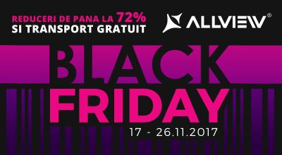 Black Friday la Allview: 10 zile de reduceri, 100.000 de produse, 1,5 milioane de euro reduceri  X4 Soul Infinity Plus va fi disponibil, în premieră, pentru precomandă la un preț special