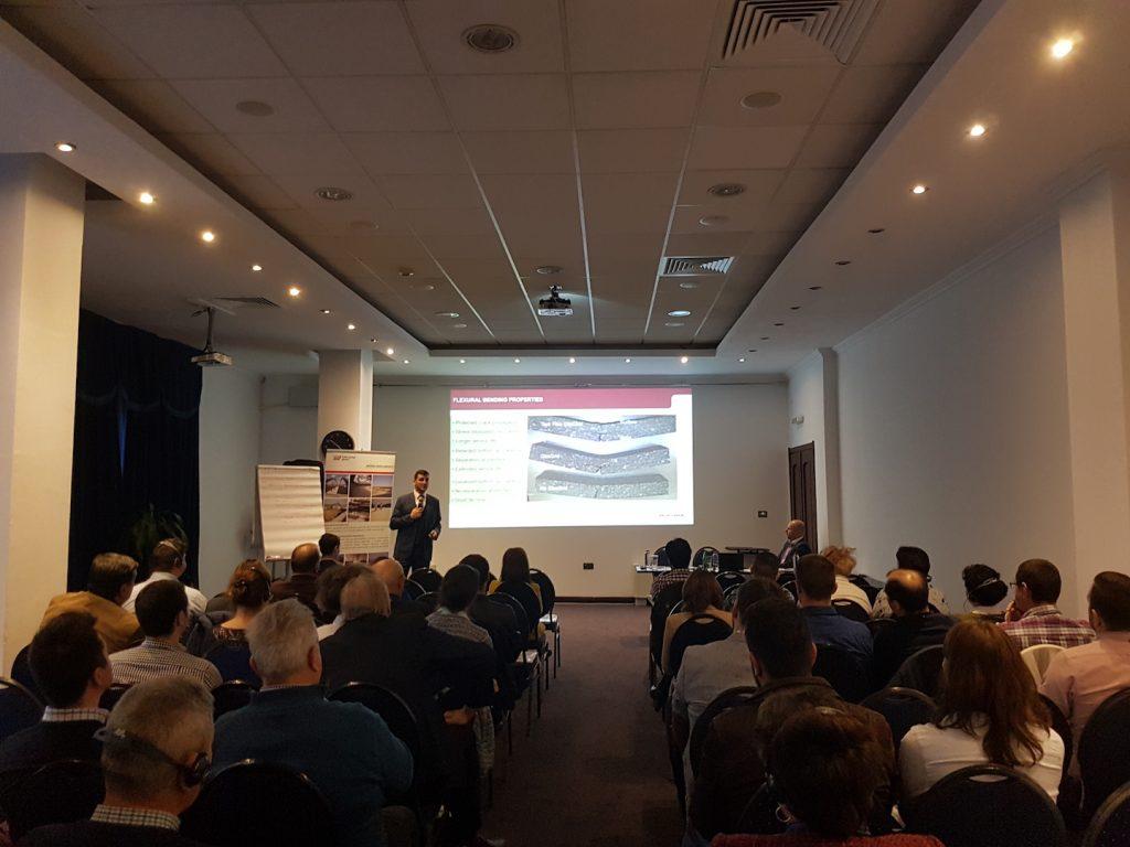Iridex propune soluţii performante pentru armarea asfaltului