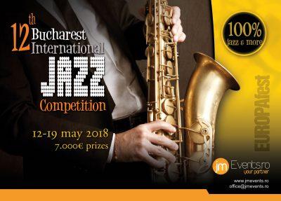 EUROPAfest 25 lanseaza Bucharest International Jazz Competition 2018  Trupe de jazz din intreaga lume sunt asteptate sa concureze  pentru premii de 7000 EUR