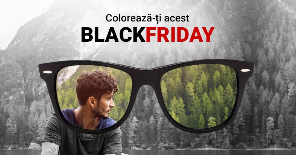 Lentiamo lansează campania de Black Friday cu reduceri de până la 50% Lentile de contact și ochelari de soare de la branduri de top, printre produsele incluse în ofertă