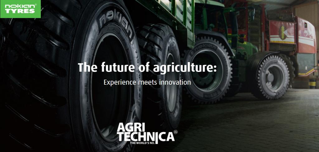 Nokian Heavy Tyres la Agritechnica 2017: Anduranță imbatabilă – fiabilitatea întâlnește inovația vizionară