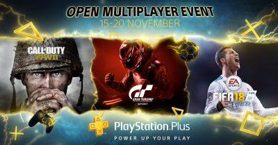 Sony anunță sesiunea PlayStation Plus Open Multiplayer: acces gratuit la componenta online a jocurilor de PS4