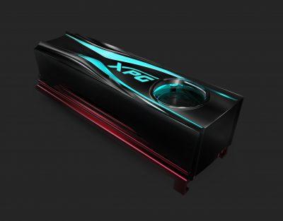 ADATA lanseaza radiatorul XPG STORM RGB M.2 2280 cu racire activa Un add-on cool si elegant pentru orice SSD M.2 ce va spori stabilitatea sistemului