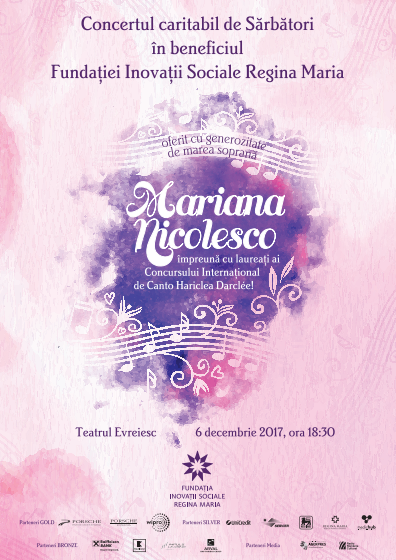 Concert Craciun – Mariana Nicolesco pentru copiii din centrele educationale ale Fundatiei