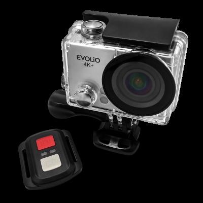 Evolio lanseaza o noua camera de actiune, cu rezolutie 4K, set complet de accesorii si telecomanda cu raza extinsa.