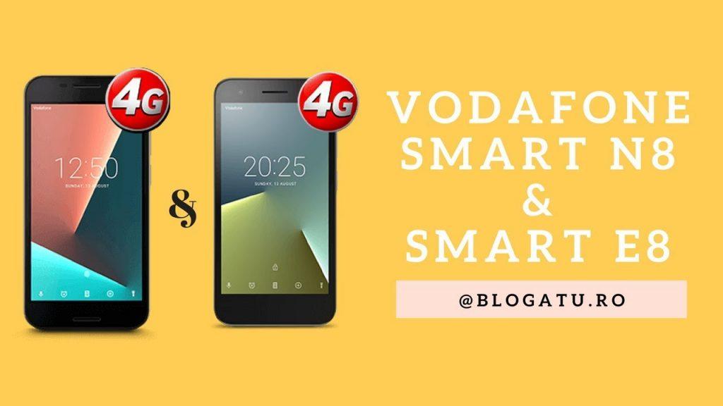 Vodafone Smart N8 si Vodafone Smart E8 – review
