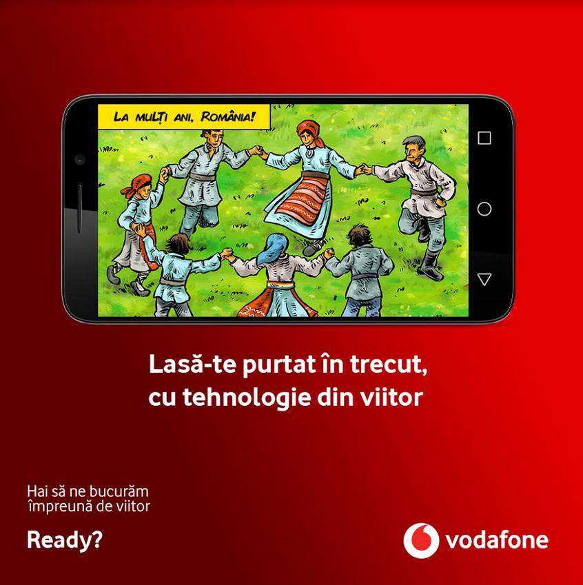 Vodafone Romania lanseaza Istori@, noua sectiune a aplicatiei Biblioteca Digitala, dedicata istoriei romanilor