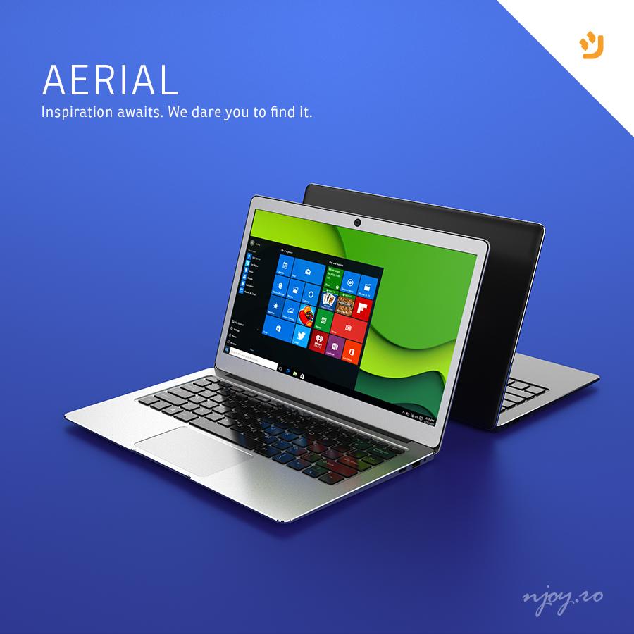 Se lanseaza primul ultrabook din gama de mobile nJoy – Aerial, indrazneste sa te lasi inspirat