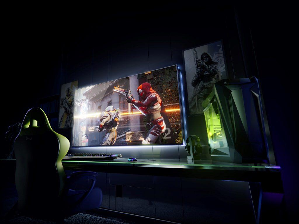 NVIDIA mută gaming-ul pe display-uri în format mare (BFGD)