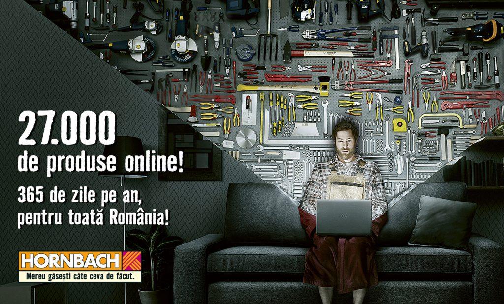 HORNBACH deschide în România magazin online cu peste 27.000 de produse disponibile