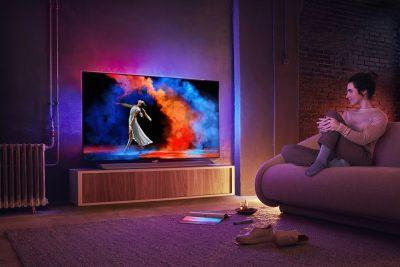 Philips TV lansează gama OLED 2018 cu noi modele și noi dimensiuni ale ecranelor